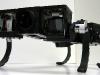 Ckbot quadruped concept with spine articulation -- ground view