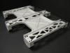 bead blasted aluminum Edubot frame